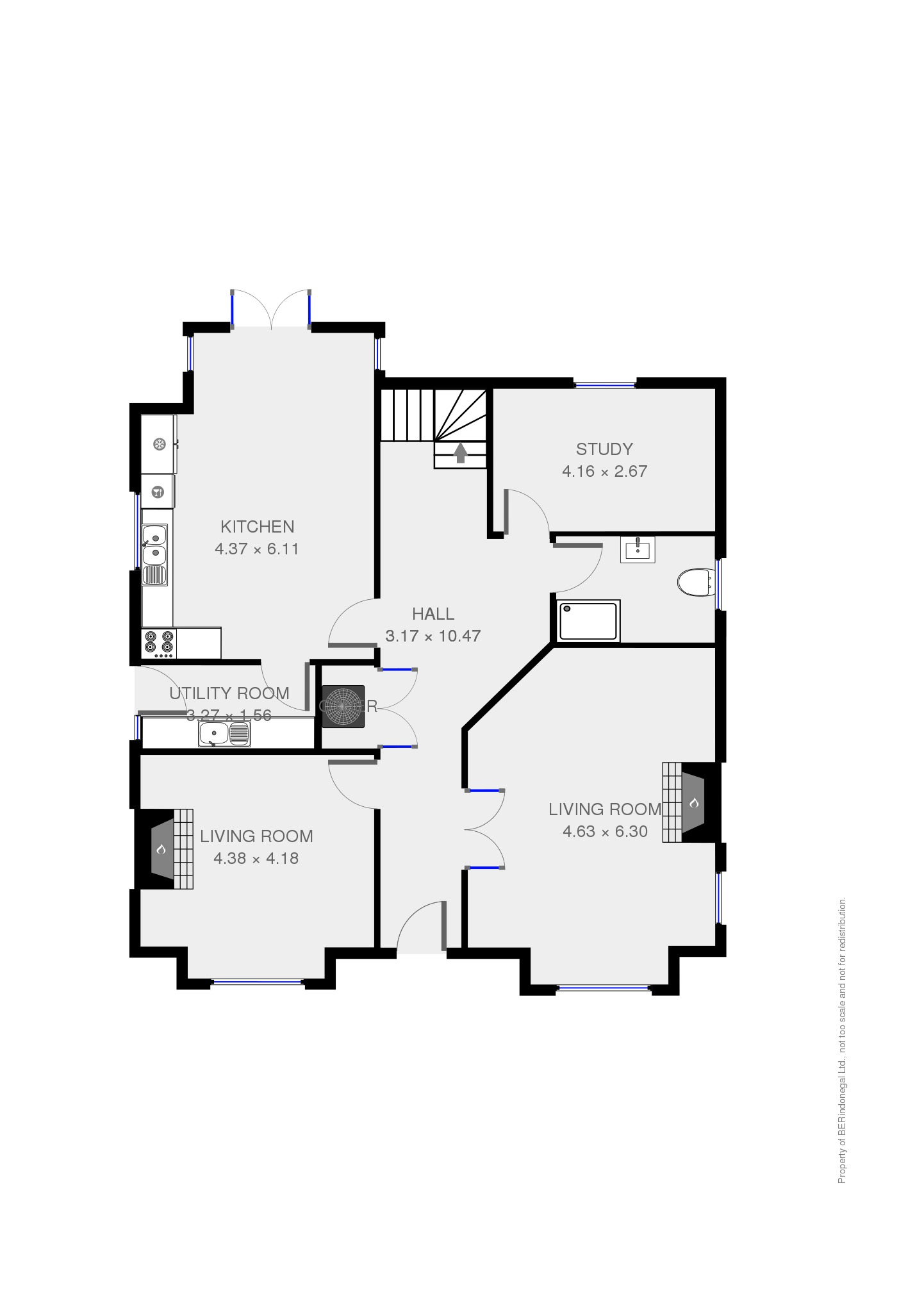 Sample floorplan ground floor berindonegal Bad floor plans examples